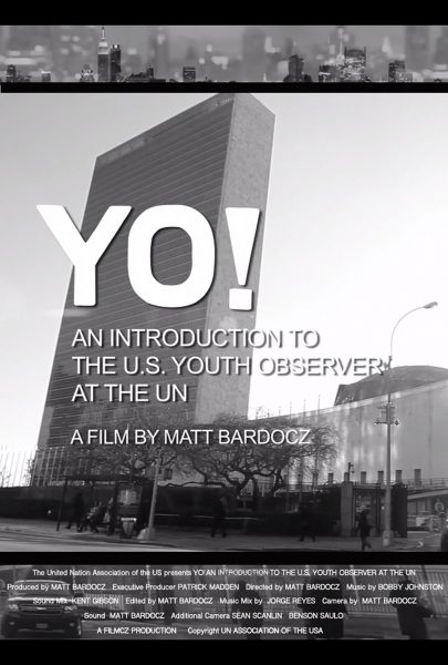 Yo! The U.S. Youth Observer at the UN